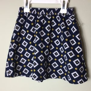 GAP (BabyGap) Patterned 100% Cotton Corduroy Skirt